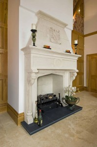 Three Magnificent Fireplaces In One House in Kent - The dining room