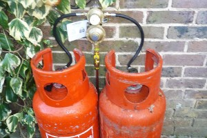 LPG gas fire tanks