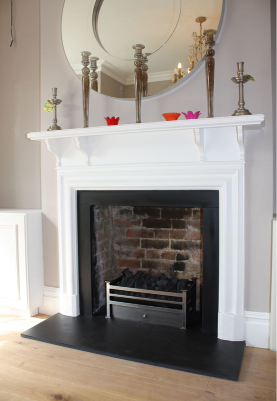 fireplace installation in Chiswick