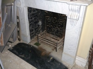 small fireplace refurbishment in Wandsworth