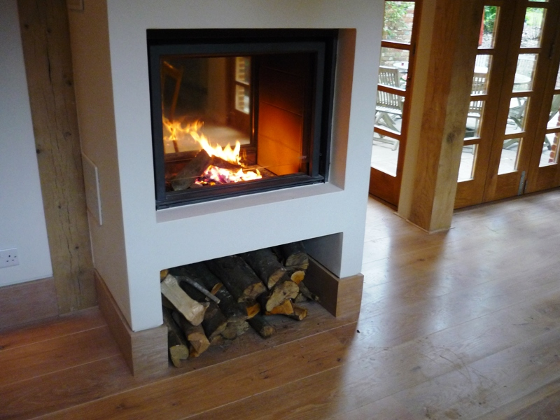Stuv double sided stove in Winchester - The Billington Partnership