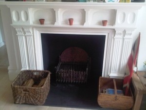 Before Stovax Brunel Stove in Matt black installed