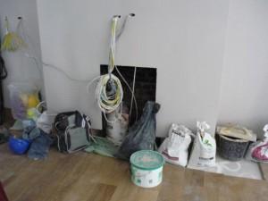 Installation of exhausto fan flue system