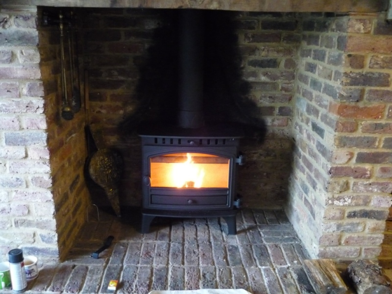 Hunter Herald 8 Slimline Stove in Epsom