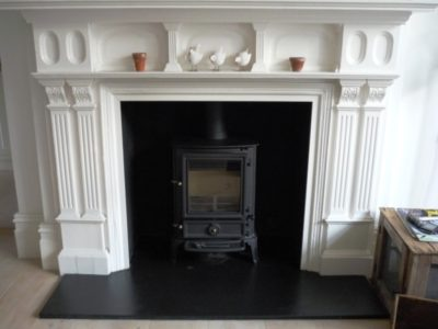 Stovax Brunel Stove in matt black
