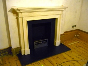 The Burlington Mantel by Chesney's in Wimbledon Installation Part 2
