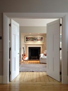 Burnley Bathstone Fireplace Installation in Wimbledon Installation