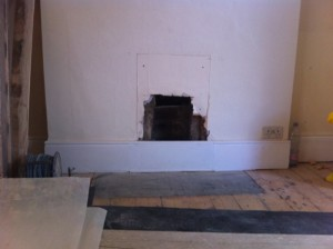 The Burlington Mantel by Chesney's in Wimbledon - Before