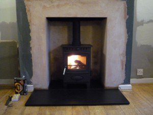 After Ecoburn 5 Stove from Aarrow installation