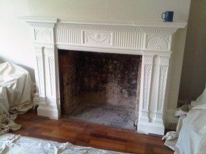 Jotul F400 installation removal of old fireplace