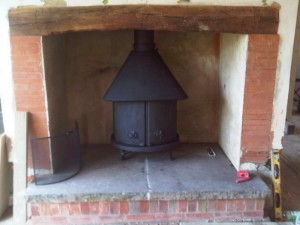 Jotul No. 6 Woodturning Stove Closed