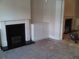 Pair of Classic Victorian fireplaces by Chesneys