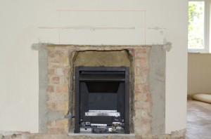 Stovax Studio 1 wood burning stove before installation