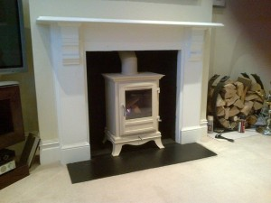 Barrington 6KW Ivory Stove from Chesney's