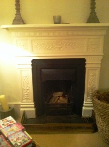 Before installation of Chesney's 5Kw Salisbury stove