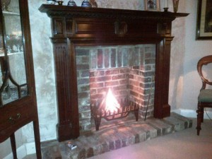 fireplace renovation in Haslemere