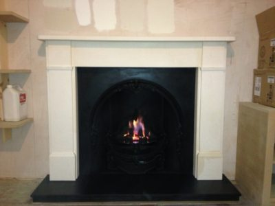 classic victorian fireplace from Chesney's