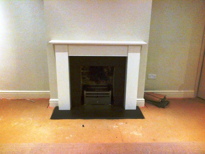 Limestone Fireplace In Guildford Surrey The Billington