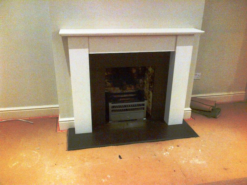 Limestone fireplace in Guildford, Surrey - The Billington Partnership