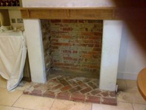 Charnwood Island II stove in Almond: Original opening