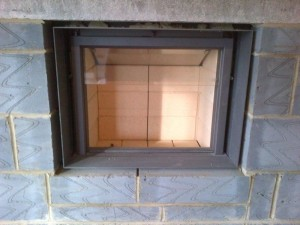 Stuv 21/75 wood burning stove with retractable door