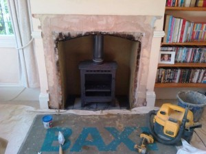 Stovax Stockton 5: Getting the stove installed