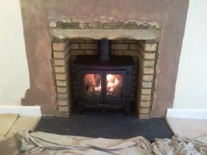 Testing the Charnwood II stove
