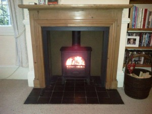 Stovax Stockton 5 Stove: Testing the stove