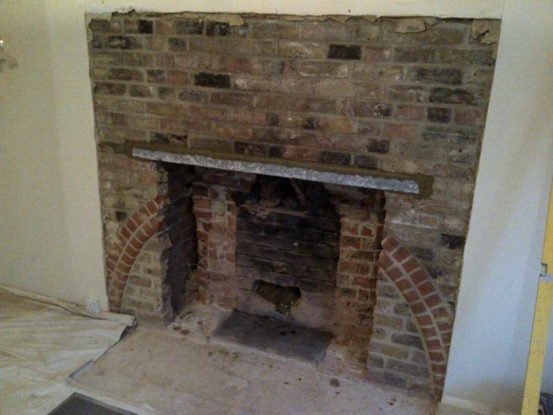 Rudloe stone fireplace and Invicta stove installation - The ...