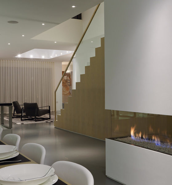 Contemporary fireplace designs and installation
