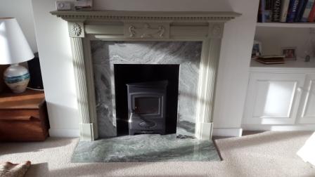 Arrow Eco burn Defra approved stove