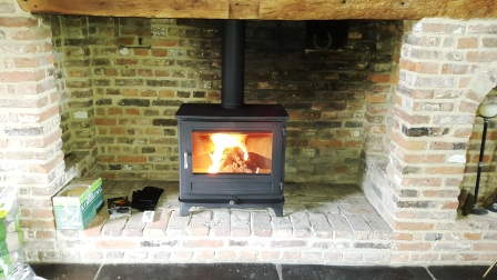 Chesneys 12kw Salisbury stove