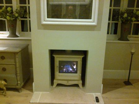 Chesney's Beaumont gas stove installation