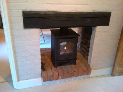 Double sided Hunter Hawk 4 stove