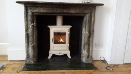 Beaumont 6KW Stove in Tunbridge Wells Kitchen fireplace