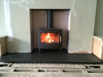 Westfire Two stove installed in Wandsworth, London